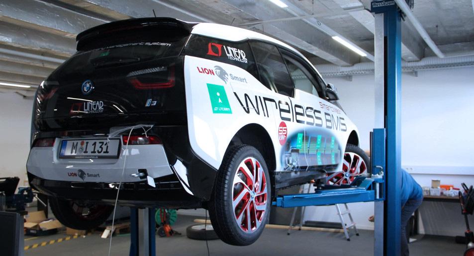 BMW i3 Wireless BMS