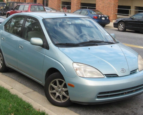 The highly successful plug-in hybrid 1997 Toyota Prius
