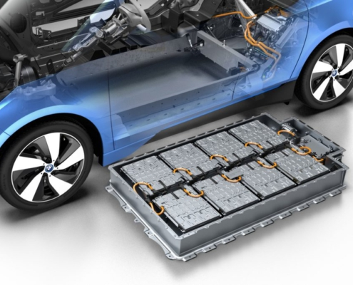 BMW i3 battery sourced from BMW