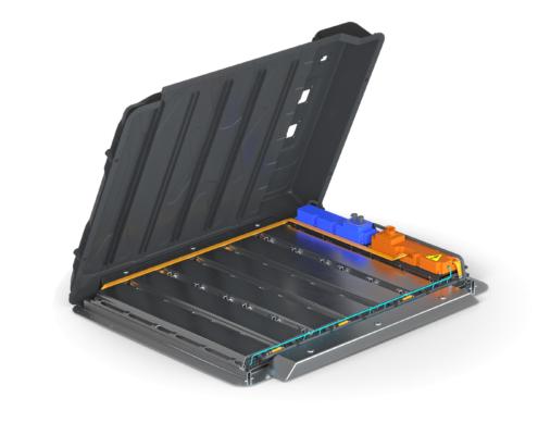 Multi-Material Battery Enclosure open top view
